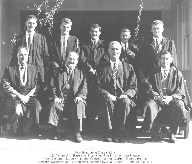 First Graduating Class 1951